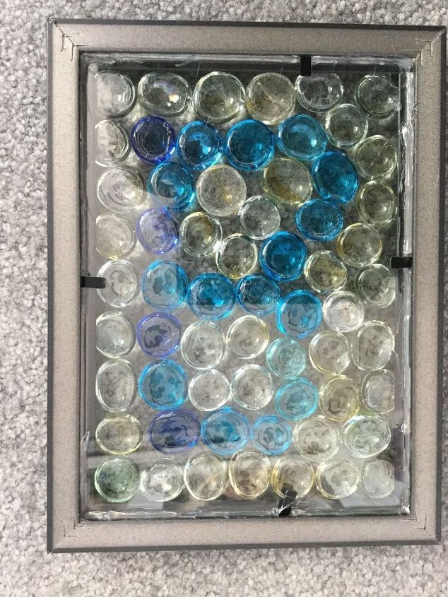 inexpensive glass gem sun catcher, crafts, home decor, repurposing upcycling