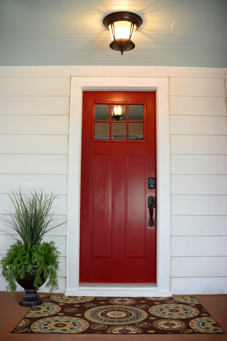 Red Front Doors | Home Living Room Ideas