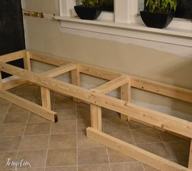 How I Built A In Bench Dining Room Ideas Painted Furniture Woodworking