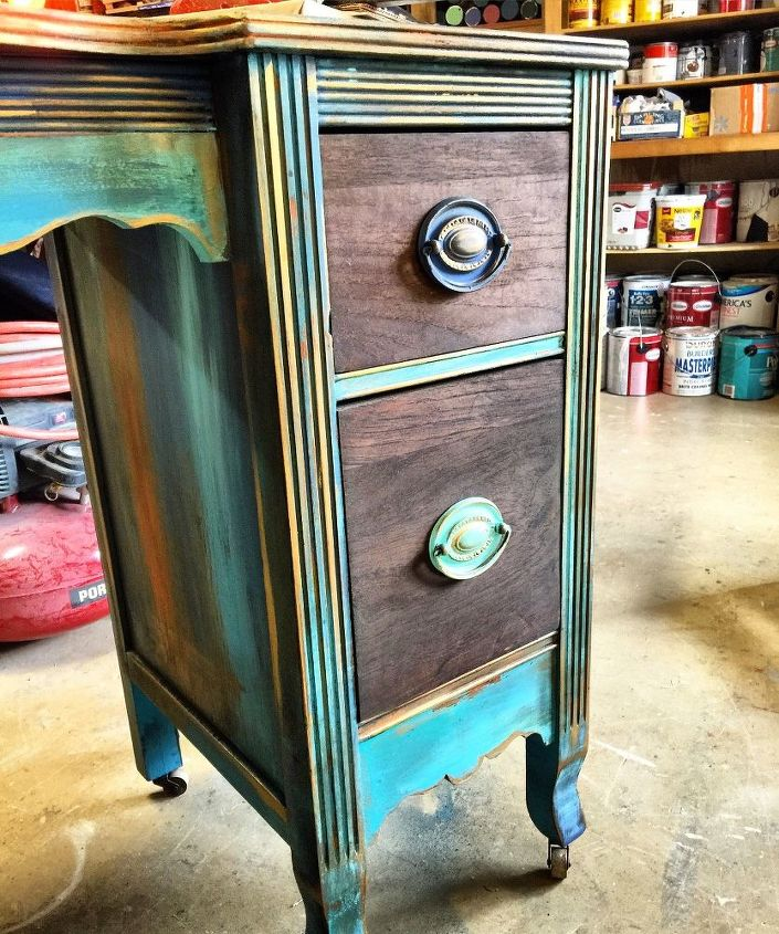 antique vanity refinishing a 35 garage sale find, chalk paint, painted  furniture - Antique Vanity Refinishing..A $35 Garage Sale Find! Hometalk