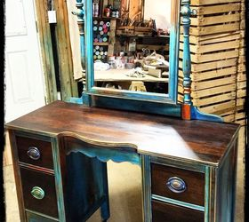 superb Antique Vanity For Sale Part - 12: antique vanity refinishing a 35 garage sale find, chalk paint, painted  furniture