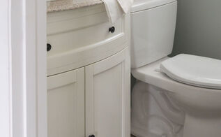 from dreary to dreamy our half bath overhaul, bathroom ideas, home improvement