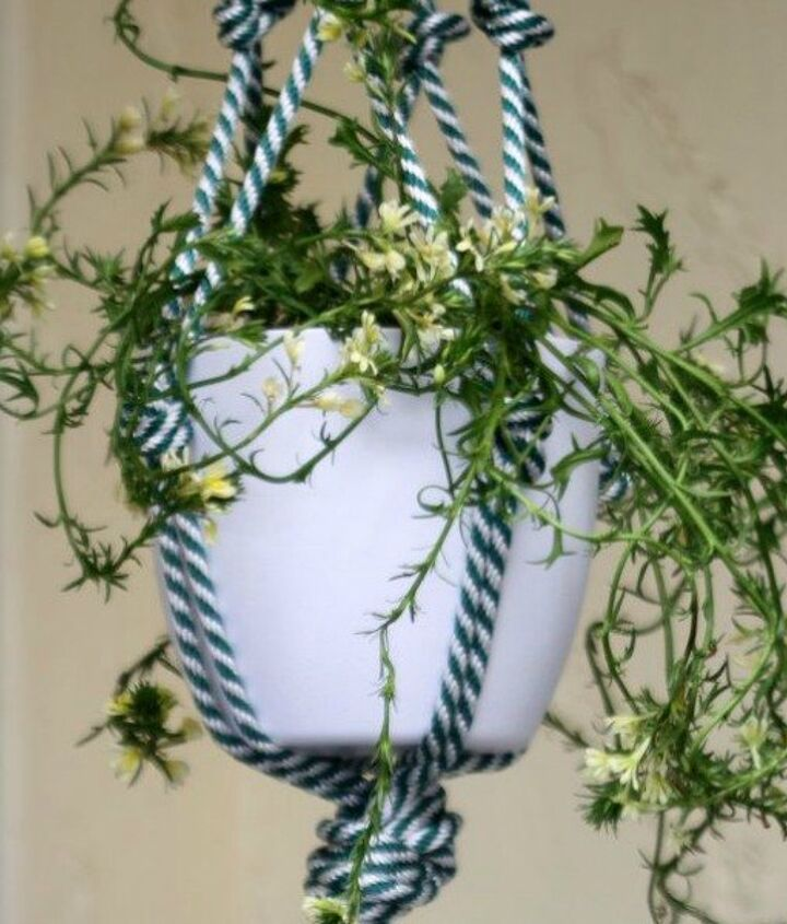 s 12 awesome ideas for gardeners who are impatient for spring, gardening, Make decoration for their potted plants