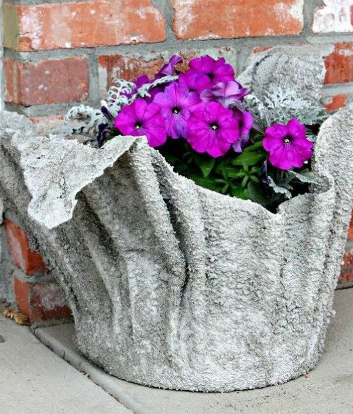 s 12 awesome ideas for gardeners who are impatient for spring, gardening, Make some creative planters