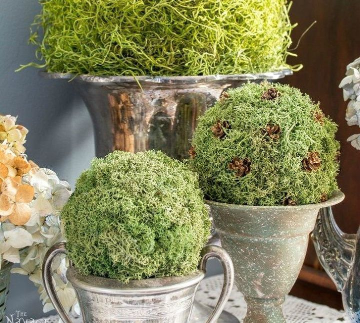 s 12 awesome ideas for gardeners who are impatient for spring, gardening, Bring in some faux greenery