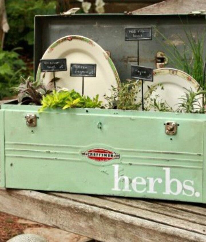 s 12 awesome ideas for gardeners who are impatient for spring, gardening, Start an herb garden for the kitchen