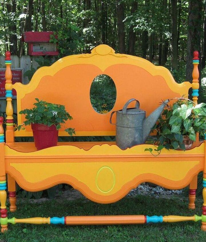 s 12 awesome ideas for gardeners who are impatient for spring, gardening, Turn unwanted furniture into gardening space