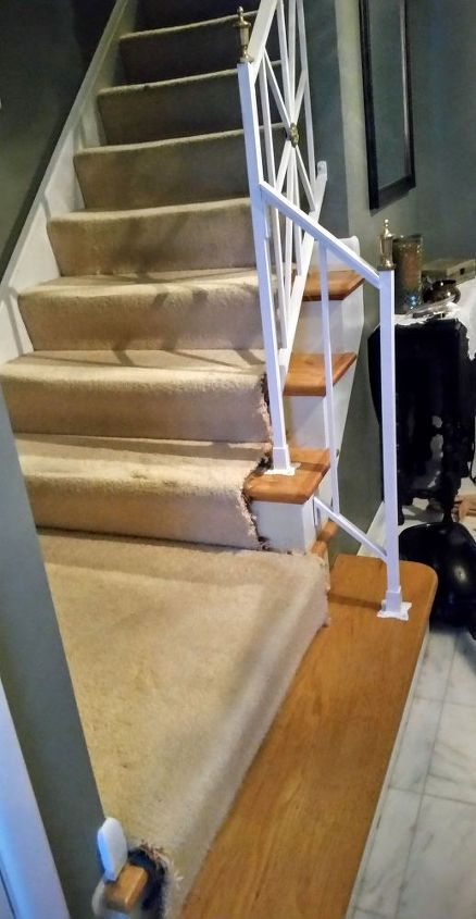 q what would you do, cosmetic changes, home improvement, stairs, reupholster