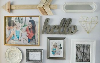 the makings of a gallery wall, how to, wall decor