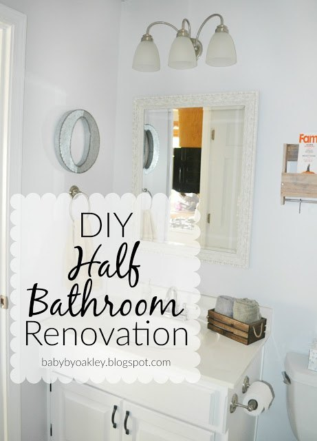DIY Half Bathroom Redo | Hometalk