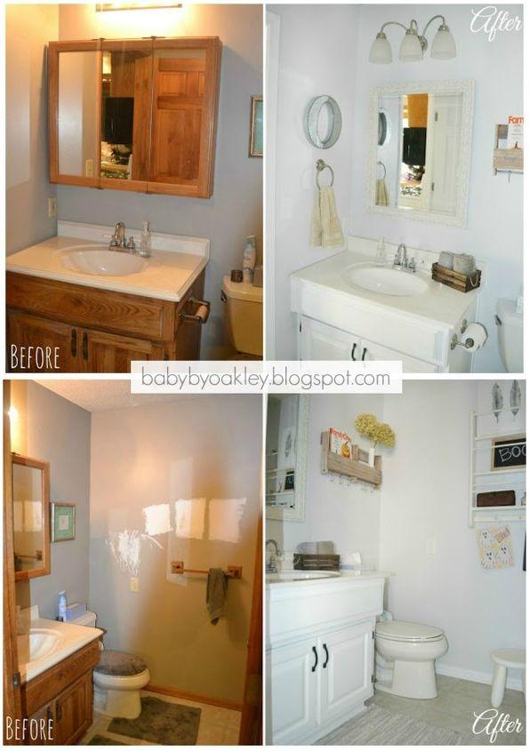 DIY Half Bathroom Redo | Hometalk