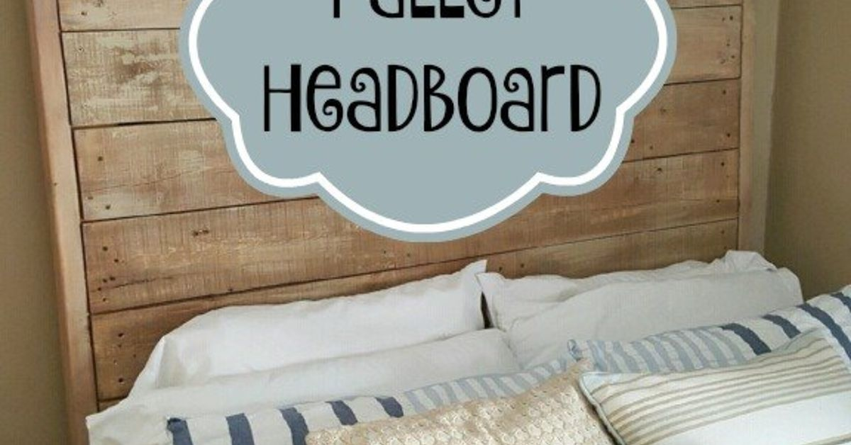 Giant Pallet Headboard With Lights Just 60 Hometalk