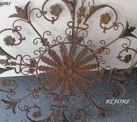 How To Paint Metal Wall Art, Crafts, How To, Wall Decor