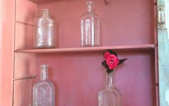 Sweet Salvaged Medicine Cabinet