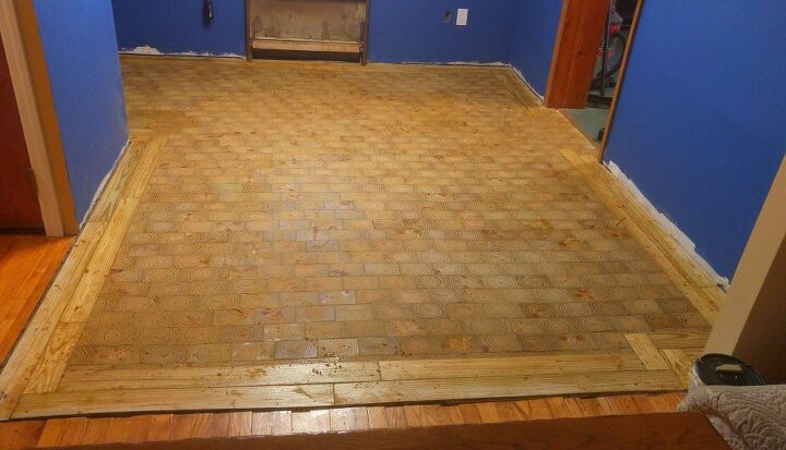 cherry plywood floors i made an end grain wood floor from scratch and saved myself 4000