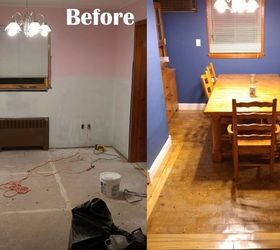 I Made An End Grain Wood Floor From Scratch And Saved Myself 4000, Dining  Room
