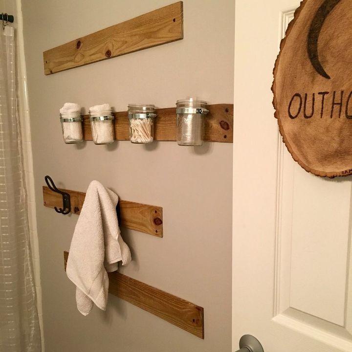 Outhouse themed bathroom hometalk for Bathroom decor quiz