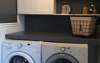 laundry room cleaned up, laundry rooms, organizing