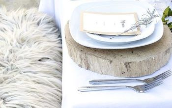 Winter Inspired Table Setting