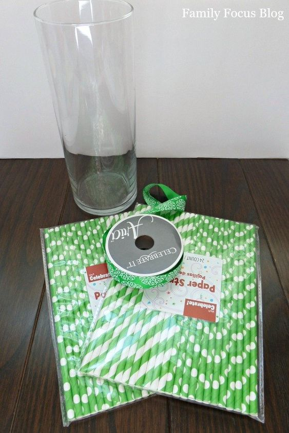 st patricks day easy vase home decor project, crafts, seasonal holiday decor