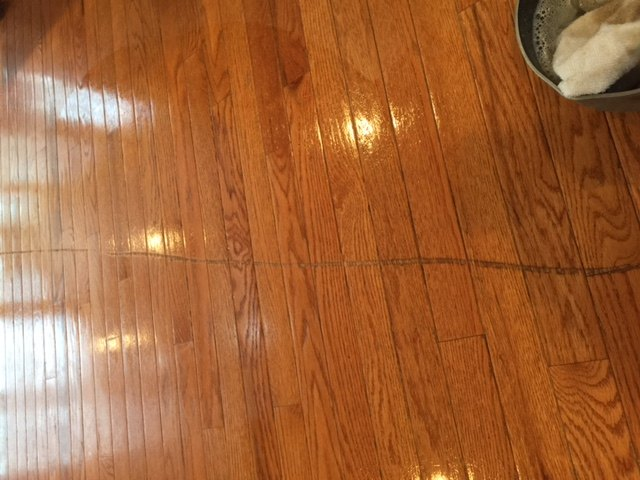 Deep Scratches On Hardware Floors Deep And Covering Multiple