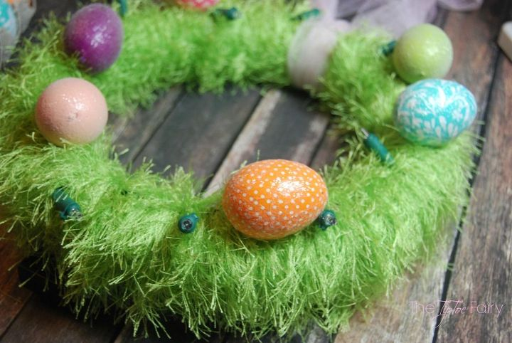 Light Up Easter Egg Wreath Hometalk