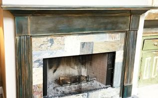 fireplace mantel refinishing, diy, fireplaces mantels, home maintenance repairs, painting