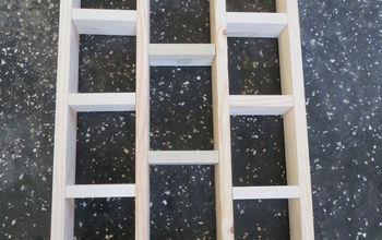 Perfect DIY Frame Shelf