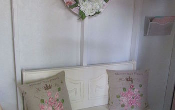 My Crafting Cottage Bench (Drab To Fab) !