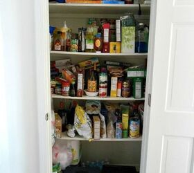 How To Organize A Pantry, Closet, How To, Organizing, Pantry Before