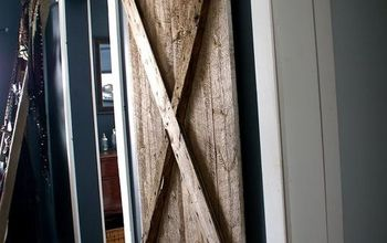 Hanging a Barn Door for Our Master Bathroom