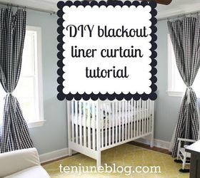 Step By Step Tutorial Diy Blackout Curtains For Nursery Or Bedroom, Bedroom  Ideas, How