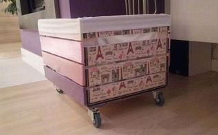 apple boxes, bedroom ideas, organizing, repurposing upcycling, woodworking projects