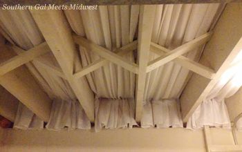 Basement Craft Room Ceiling
