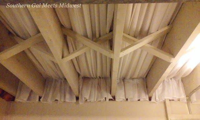 basement craft room ceiling, basement ideas, craft rooms, diy, home improvement, wall decor