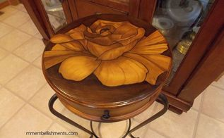 Rose Stained Table And Antique Chairs Makeover Hometalk