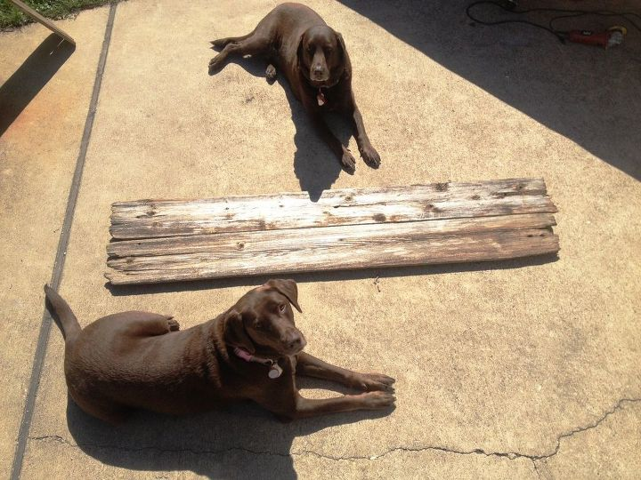 DIY Reclaimed Wood Art #DIYlikeaboss | Hometalk