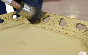 See What Happens to This Table With a Little Paint and Wax
