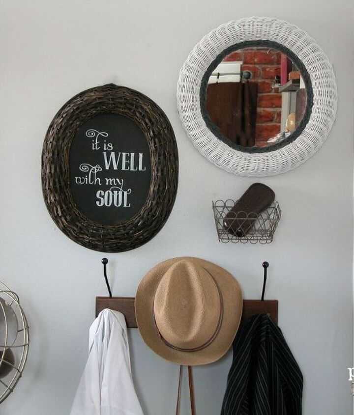 create your own decor with thrifted wall art, crafts, repurposing upcycling, wall decor