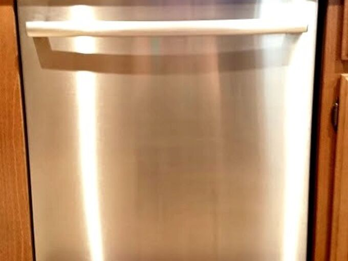 stainless steel showroom shine in minutes, appliances, cleaning tips
