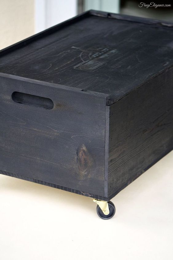 wine crate up cycle recycle with wheels, closet, how to, organizing, repurposing upcycling, storage ideas