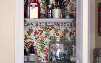 Organizing a Tiny Bathroom Closet