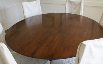 refinish a table without sanding or stripping, painted furniture