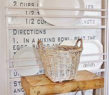 create a recipe wall, kitchen design, wall decor