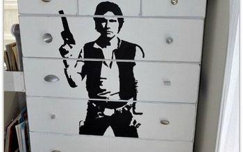 Han Solo Dresser Makeover