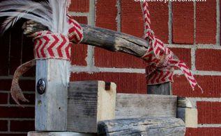 reclaimed wood birdfeeder, outdoor living, woodworking projects