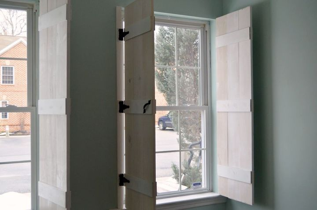 Diy Farmhouse Style Indoor Shutters Hometalk