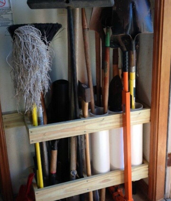 s 15 ridiculously cool uses for leftover pvc pipe, crafts, repurposing upcycling, Organize Your Gardening Tools Before Spring