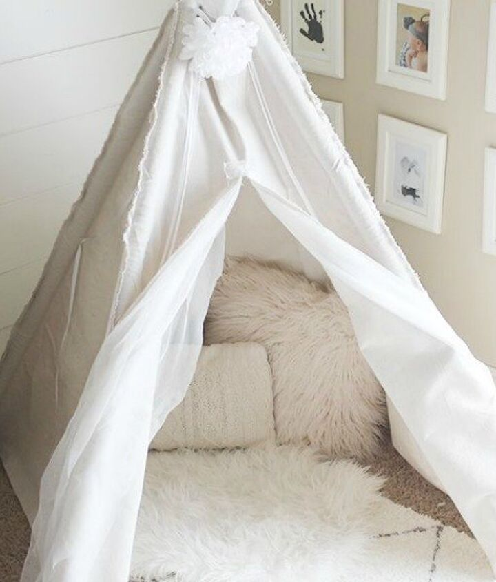 s 15 ridiculously cool uses for leftover pvc pipe, crafts, repurposing upcycling, Build a Whimsical Playtime Teepee