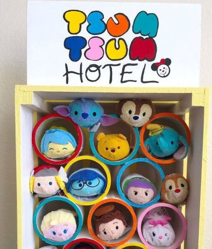 s 15 ridiculously cool uses for leftover pvc pipe, crafts, repurposing upcycling, Turn Pieces into Adorable Toy Storage